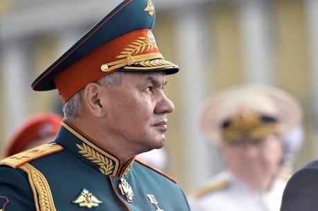 Sergey Shoygu viajava de Kaliningrado para Moscou