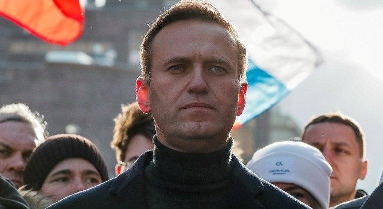 Líder da oposição russa, Alexei Navalny