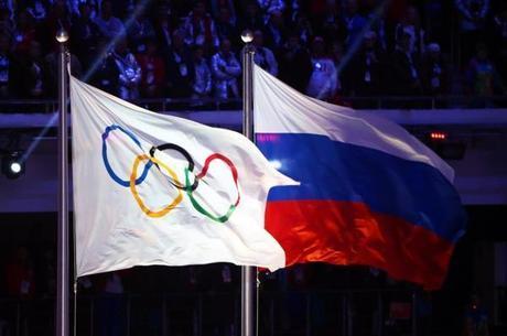 Bandeira russa não poderá ser hasteada