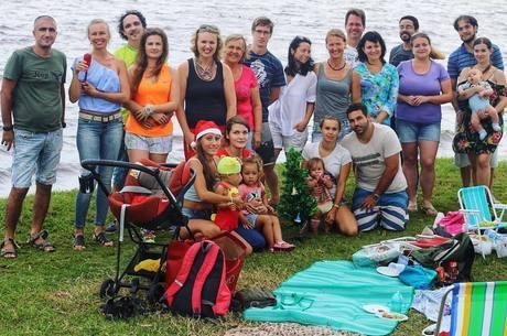 Famílias russas se reúnem com frequência em Florianópolis