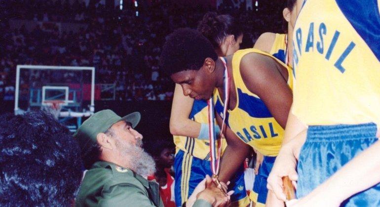 Ruth de Souza foi campeã pan-americana e mundial de basquete