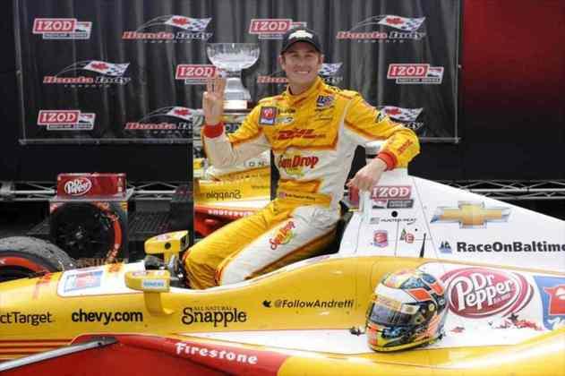 Ryan Hunter-Reay conquistou o título de 2012 pela Andretti
