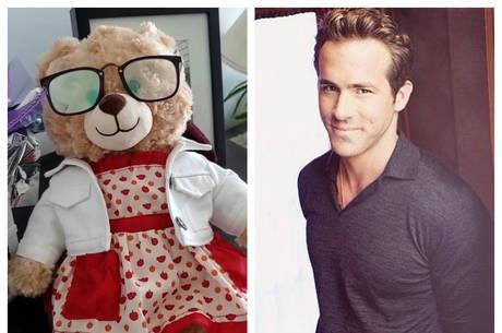 Ryan Reynolds e o urso perdido por uma canadense
