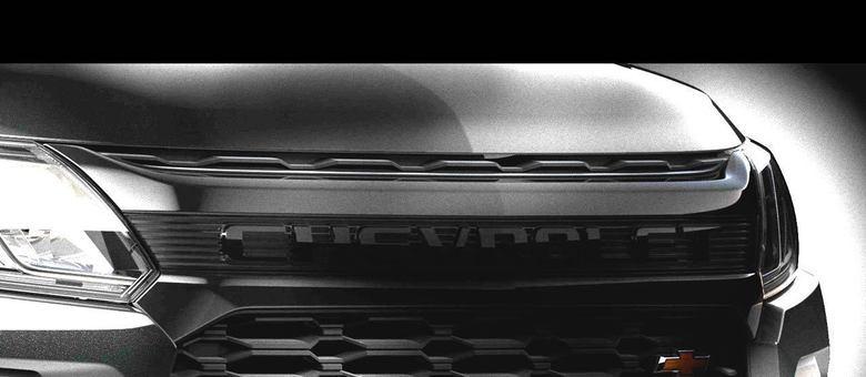 Foto clareada da dianteira divulgada pela Chevrolet nesta tarde: mudanças previstas para este ano