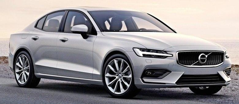 Novo Volvo S60 fabricado desde 2018 nos Estados Unidos e que chega no mês que vem ao país