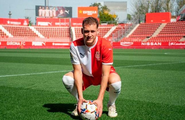 Sabastián Cristóforo (Uruguai) - 28 anos - Volante - Valor de mercado: 1,2 milhões de euros - Sem time desde: 01/07/2021 - Último clube: Girona