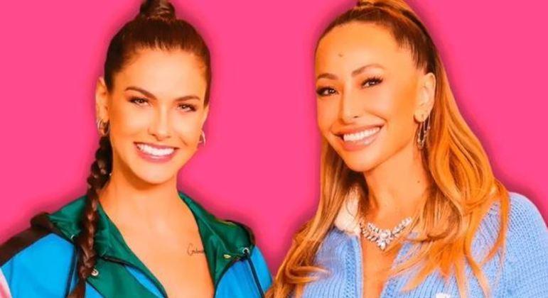 Primeiro episódio de programa online de Sabrina Sato contou com a participação de Andressa