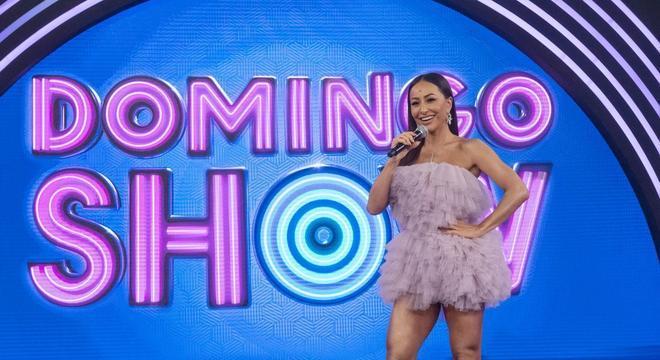 Sabrina Sato estreia no 'Domingo Show' neste domingo (8)