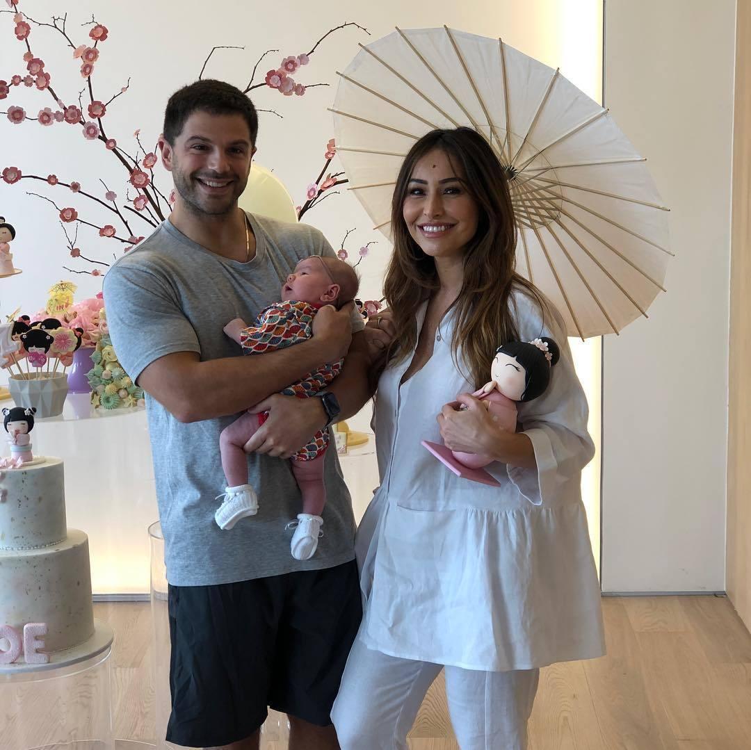 b7af9c4114f6e Filha de Sabrina Sato ganha festão em comemoração ao 1º mês de vida ...