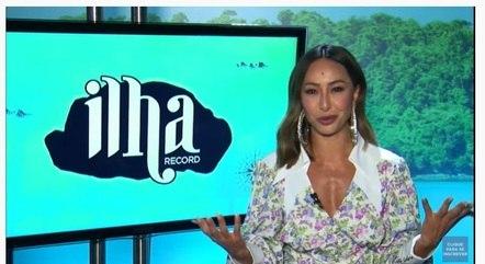Sabrina Sato é a apresentadora do 'Ilha Record'