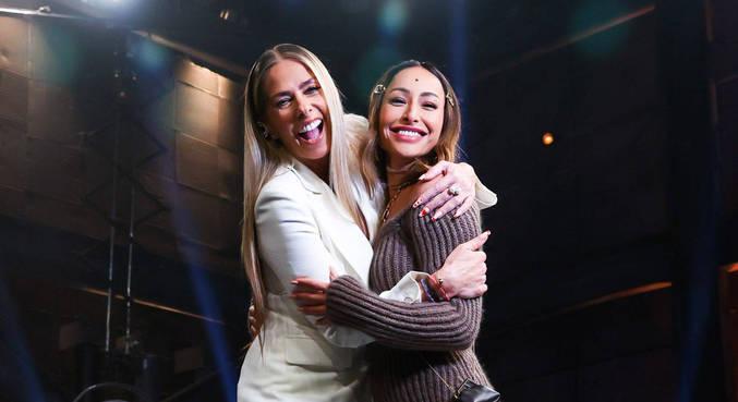 Galisteu e Sabrina são as apresentadoras dos realities da Record TV