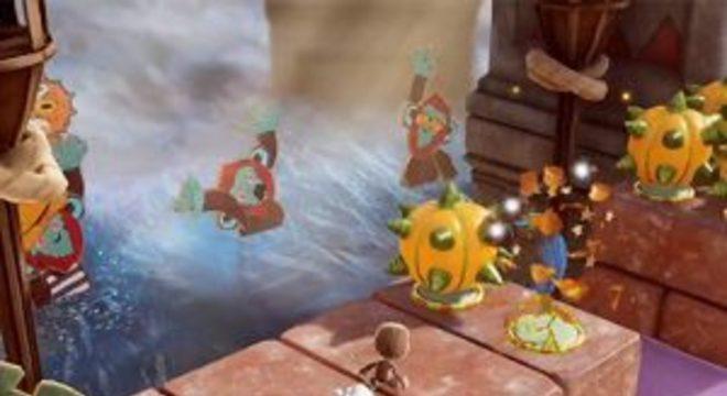 Sackboy: A Big Adventure é uma aventura do protagonista de LittleBigPlanet para PS5