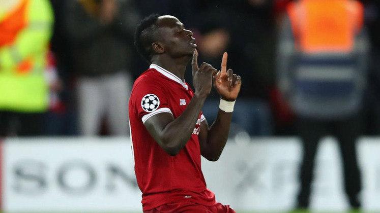 Sadio Mané: Com o Liverpool em 2019 e em 2020, marcou 22 gols e conquistou a Premier League