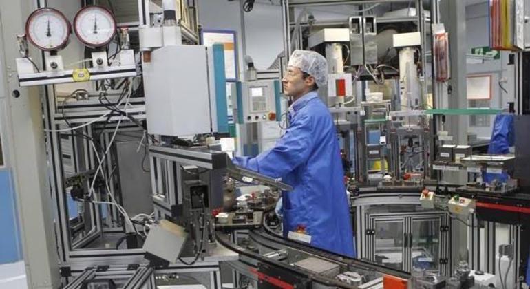 Boa parte das peças mecânicas é feita no Brasil
