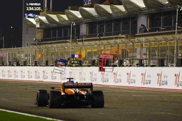 Sainz foi o mais veloz do dia no speed trap