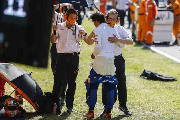 Sainz lamentou o toque sofrido na largada em Mugello