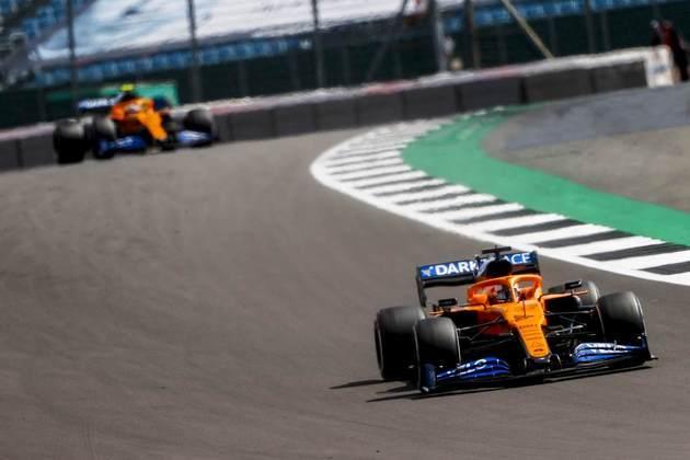 Sainz permaneceu praticamente a corrida inteira no quinto lugar