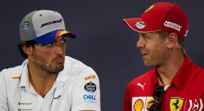 Carlos Sainz troca a McLaren e vai para Ferrari nas próximos dois anos