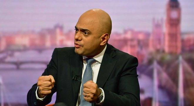 'Vamos sair (do bloco europeu) em 31 de outubro', tem insistido Sajid Javid, secretário do Tesouro