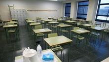 Escola estadual em SP vai voltar com 1/3 dos alunos, diz secretário
