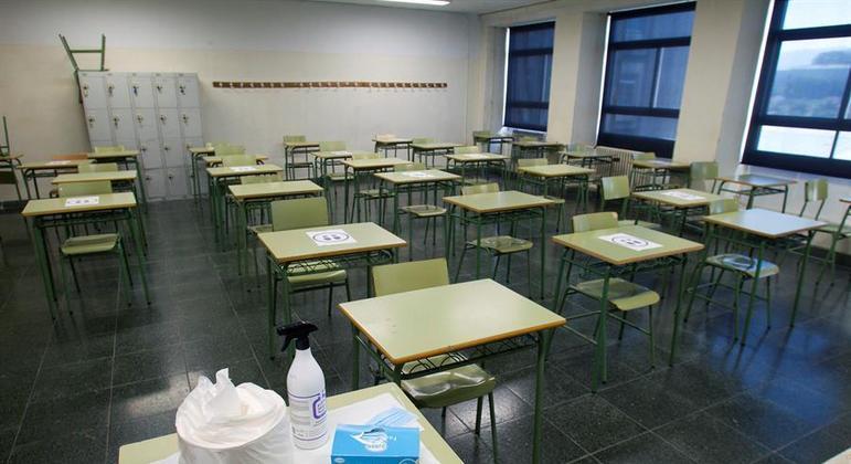 Escola estadual em São Paulo vai voltar com 1/3 dos alunos, diz secretário de Educação