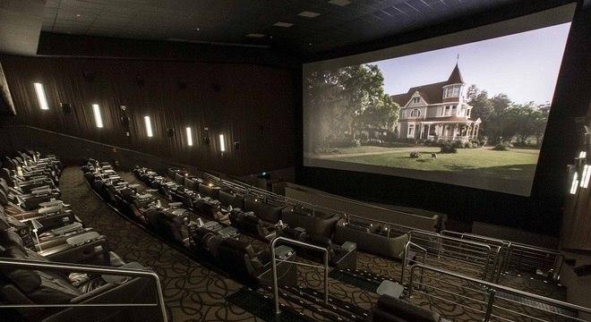 Sala de cinema na capital paulista