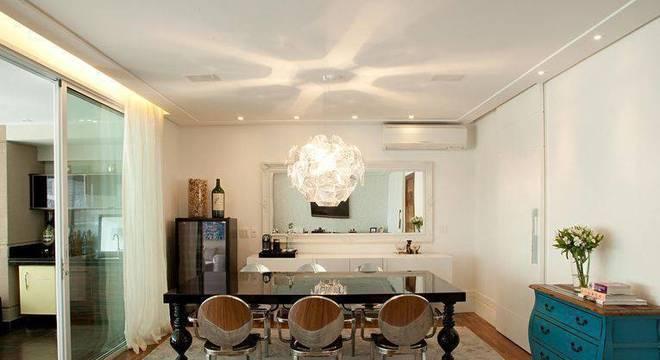 sala de jantar com mesa de jantar patricia kolanian pasquini