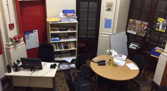 Sala usada por Marielle na Comissão de Direitos Humanos
