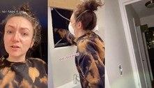 Mulher descobre apartamento inteiro escondido atrás de espelho