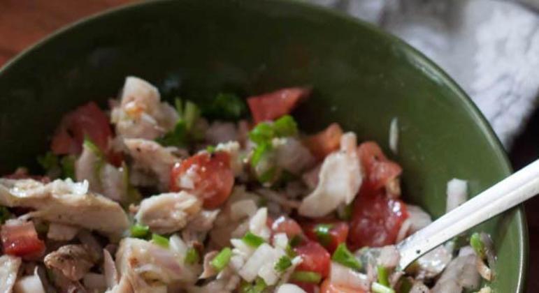Salada de Sardinha em Lata