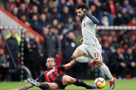 Salah mais uma vez desequilibrou o jogo