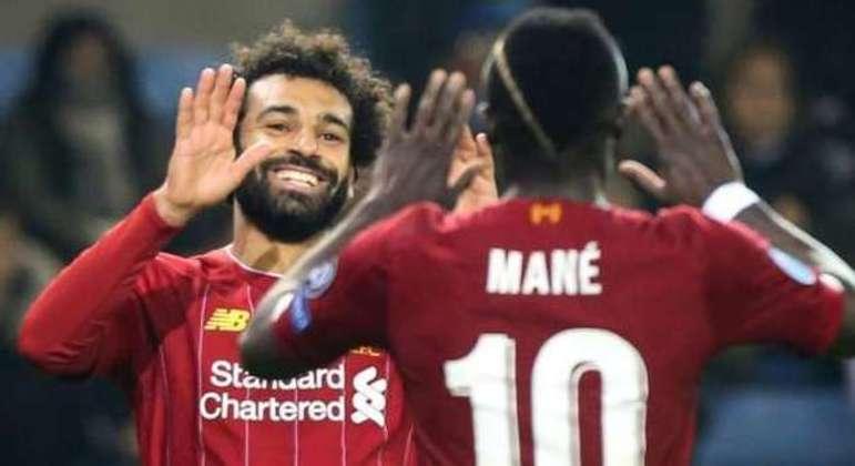 Salah e Mané, do Liverpool