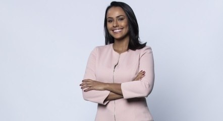 Salcy Lima é uma das apresentadoras do Boletim JR 24 Horas