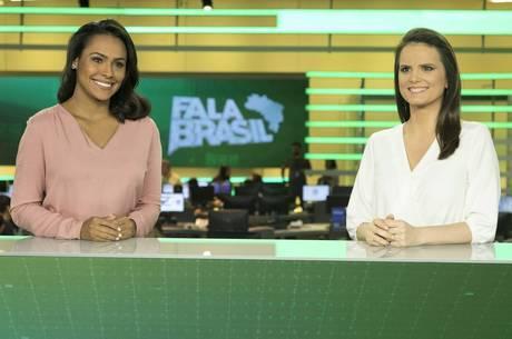 "Salcy Lima e Roberta Piza no ""Fala Brasil"""
