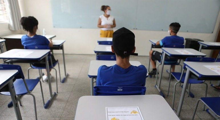 Rede estadual de SP abriu escolas para receber estudantes em situação de vulnerabilidade