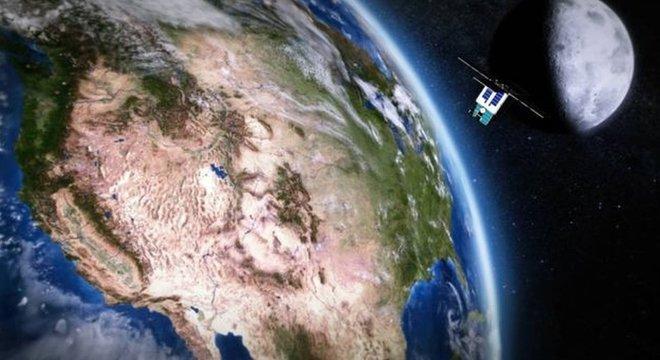 As comunicações atuais com naves espaciais são feitas por meio de sinais enviados por vários telescópios