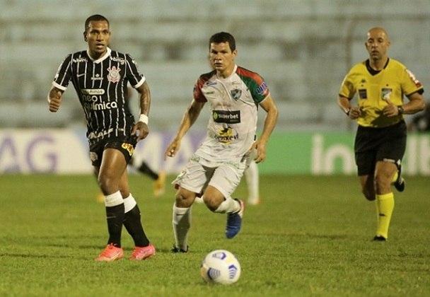 SALGUEIRO - 5,0: Mostrou ser um time organizado, mas muito inferior ao Corinthians tecnicamente e fisicamente.