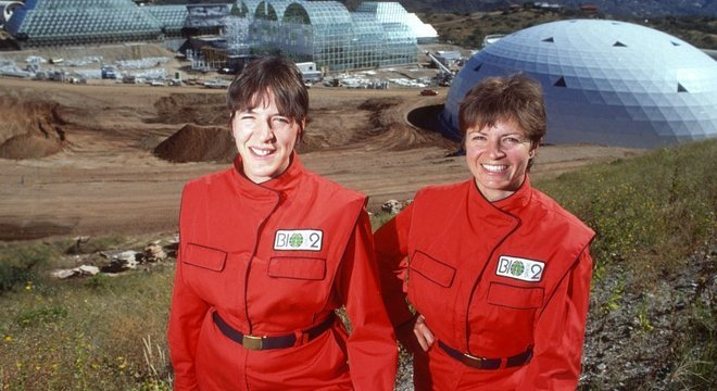 Sally Silverstone e Jane Poynter foram duas das participantes do projeto.