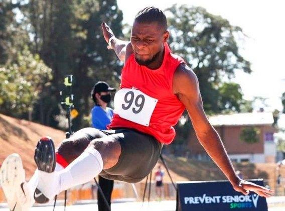 Salto em distância: Samory Uiki participa das eliminatórias, a partir das 7h10.