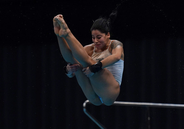A brasileira Ingrid Oliveira garantiu vaga em Tóquio 2020