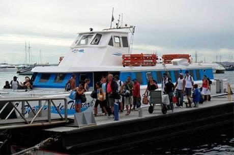 b2ff0f18a6b7 Mar Grande para a capital, os passageiros serão atendidos até às 18h30