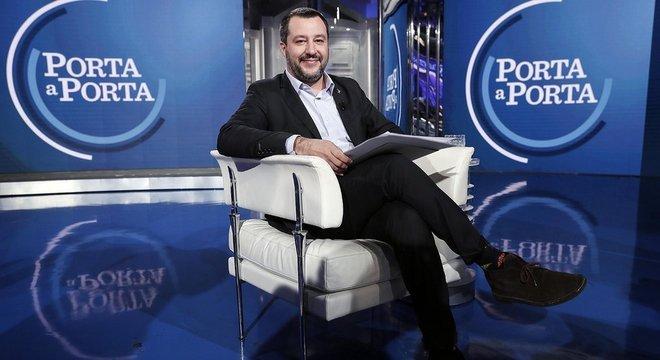 Matteo Salvini foi um dos que dominaram os engajamentos no Facebook na Itália em 2018, segundo Universidade de Pisa