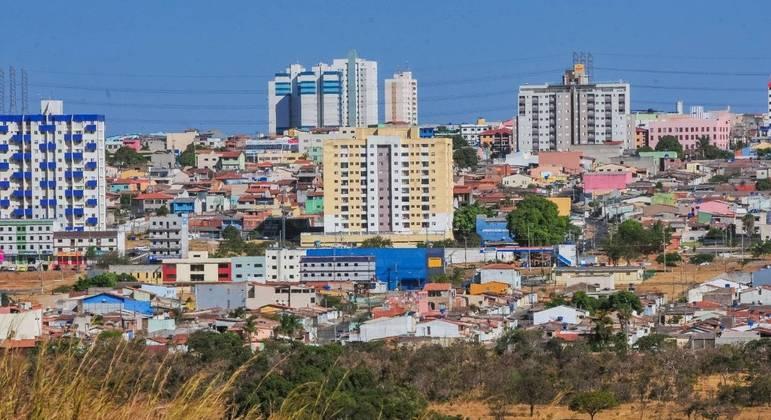 Samambaia, região do Distrito Federal