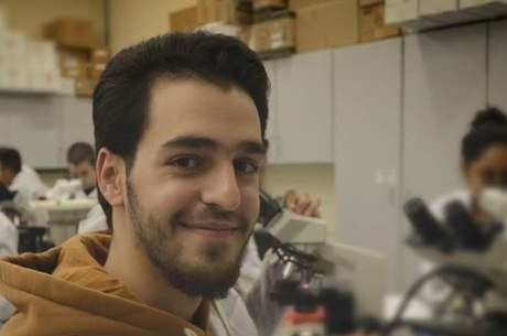 Sameh Brglah aluno de odontologia em Piracicaba