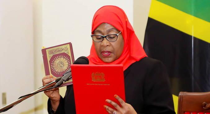 Samia Suluhu Hassan se torna 1ª mulher presidente na Tanzânia