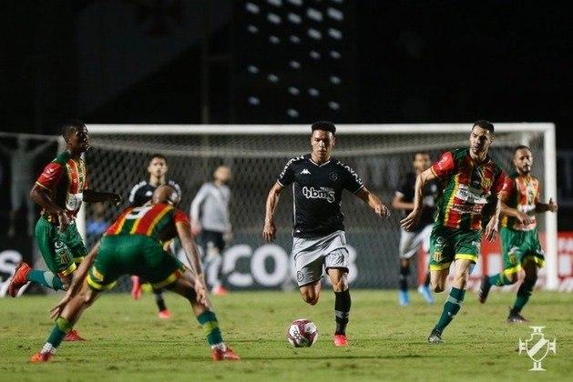 Sampaio Corrêa x Vasco (09/10 - às 21h, no Castelão) - No primeiro turno, o Gigante da Colina derrotou a Bolívia Querida por 1 a 0 com gol de Germán Cano.
