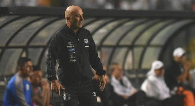 Jorge Sampaoli elogiou postura ofensiva de sua equipe