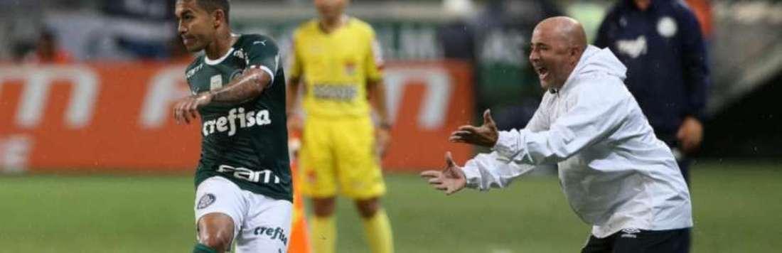 Sim de Sampaoli ao Palmeiras pode ser hoje. E tenso adeus ao Santos (Reprodução/Twitter)