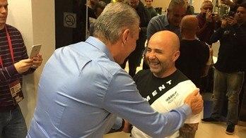Tite fez o Corinthians campeão sem salários. Agiu como Sampaoli (Instagram)
