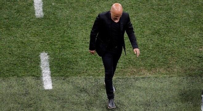 TVs argentinas dizem que atletas querem a demissão de Sampaoli ... 0dfbe9c34254e